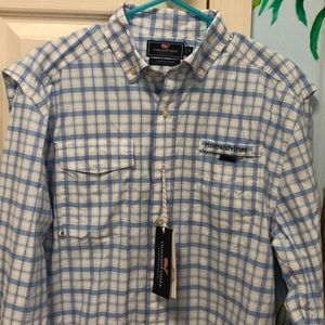 Brand New Vineyard Vines Performance Harbor Shirt